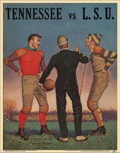 College Football - Tennessee vs LSU - 1959 Poster