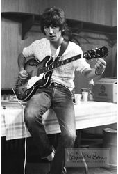 The Beatles - Print: George Harrison, Backstage,