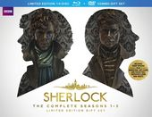 Sherlock - Complete Seasons 1-3 (Blu-ray + DVD)