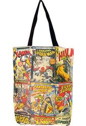 Marvel Comics - Retro Tote Bag
