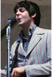 The Beatles - Print: Paul McCartney On Stage,