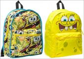 Sponge Bob - Reversible Yellow Back Pack