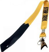 Star Trek - Gold Lanyard with Charm