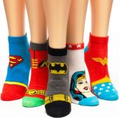 DC Comics - Superheroes - Ankle Socks 5-Pack