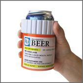 Prescription Bottle - Can/Bottle Koozie/Cooler