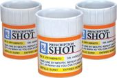Prescription Bottle - 3 Piece Shot Glass Set