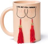 Over The Hill - Still Swingin' Juggs 12 oz. Mug