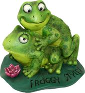 Froggy Style Garden Statue