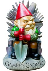 Gnomes - Game Of Gnomes - Garden Gnome Statue