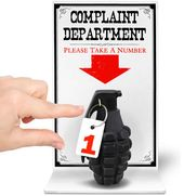 The Complaint Department Sign