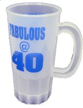 Over The Hill - Plastic Beer Fabulous @ 40 - Mug
