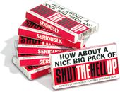 Funny Gum - Shut the Hell Up - 6-Pack