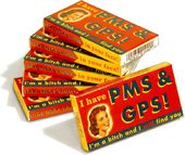 Funny Gum - PMS & GPS - 6 Pack
