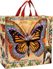 Shopper Tote - Butterfly Monarchy