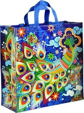 Shopper Tote - Peacock