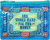 Coin Purse - She Works Hard For The Money
