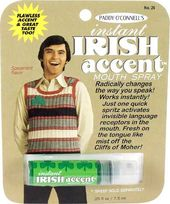 Breath Spray - Instant Irish Accent