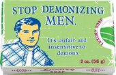 Luxury Soap - Stop Demonizing Men