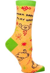 Work Hard, Play Hard - Socks