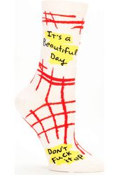 Beautiful Day Women's Crew Socks