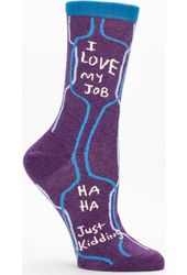 I Love My Job Women's Crew Socks