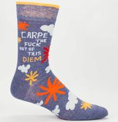 Carpe Diem Socks Men's