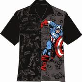 Marvel - Captain America - Two Tone - Campshirt