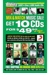 Sony Music CD Sale (#2) [Catalog #942]
