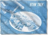 Star Trek - Enterprise Blueprint Pillow Case