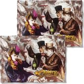 Cheers - Old Fashioned (Front & Back) Pillow Case