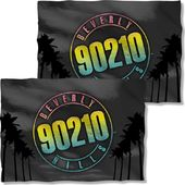Beverly Hills 90210 - Palms Logo (Front & Back)