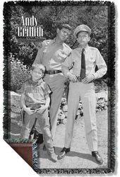 Andy Griffith Show - Lawmen - Woven Throw
