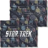 Star Trek - Enterprise Crew (Front & Back) Pillow