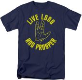 Star Trek - Live Long Hand - T-Shirt