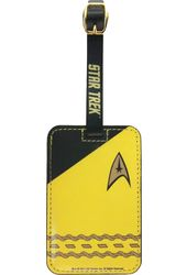 Star Trek - Uniform Gold Luggage Tag