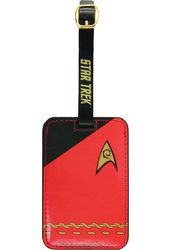 Star Trek - Uniform Red Luggage Tag