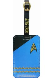 Star Trek - Uniform Blue Luggage Tag