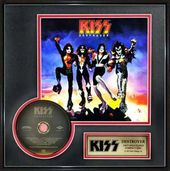 "KISS - Destroyer - Framed 14"" x 14"" Gold CD"