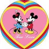 Disney - Mickey Mouse & Minnie - True Love -