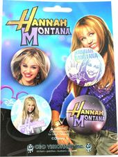 Hannah Montana - Button Set
