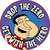 Family Guy - Quagmire - Drop The Zero - Button
