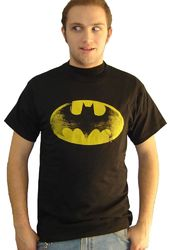 DC Comics - Batman - Distressed Logo - T-Shirt