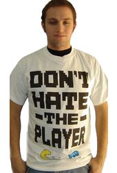 Pac Man - Don't Hate The Player - T-Shirt