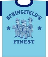 The Simpsons - Springfield's Finest - T-Shirt
