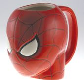 Marvel Comics - Spiderman - 16 oz. Ceramic Molded