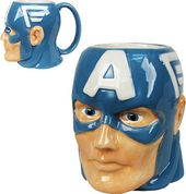 Marvel Comics - Captain America - 16 oz. Molded