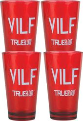 True Blood - VILF:Set of 4 Pint Glasses