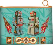 Robots - R-45 Canvas Travel Pouch