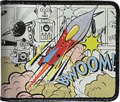 Retro Rocket - Retro Comic Wallet