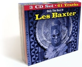 Only the Best of Les Baxter (3-CD)